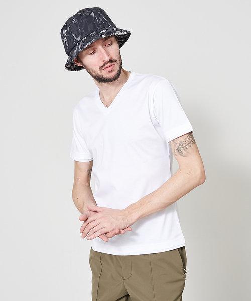 アリオリティ・スムース Vネック半袖Tシャツ