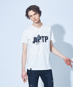 APTP 半袖 Vネック Tシャツ
