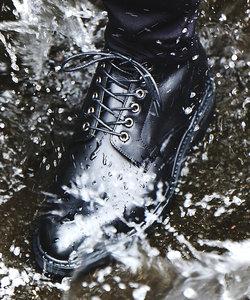 【透湿防水/軽量】編み上げブーツ