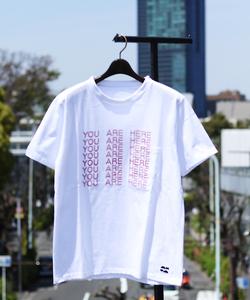 【Keiichi Tamura】YOU ARE HEREプリントTシャツ