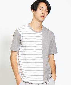 ギザコットンパラレルジャージTシャツ