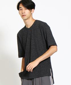 ハイゲージコットンニットTシャツ