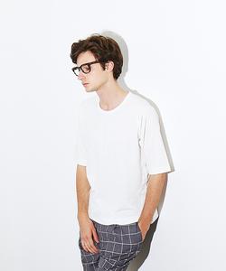 ポンチメッシュクルーTシャツ