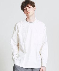 配色リブ|プルオーバーシャツ