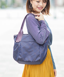 ROUND FORM TOTE BAG