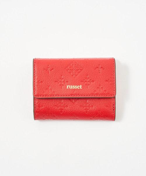 レザー三つ折り財布(SO-306)