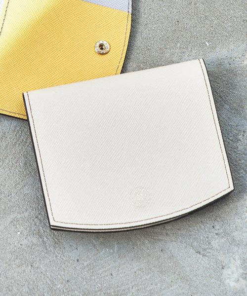 バイカラーレザー折り財布(SO-320)