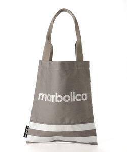 【marbolica】ボーダーハンドトートバッグ