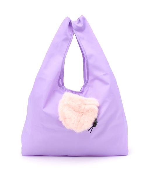 【Casselini(キャセリーニ)】ポンポンショッパーバッグ
