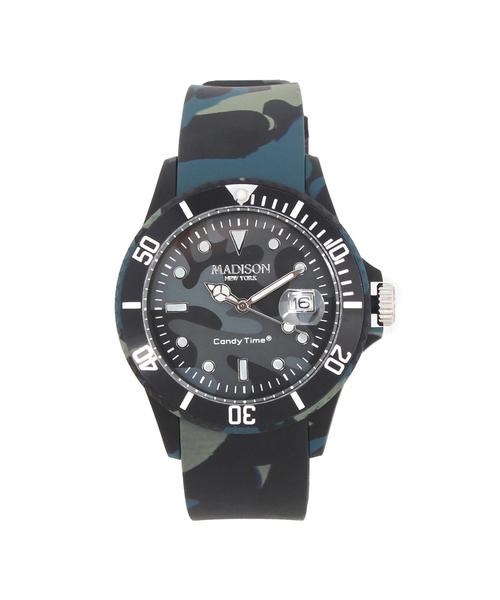 カモ/腕時計