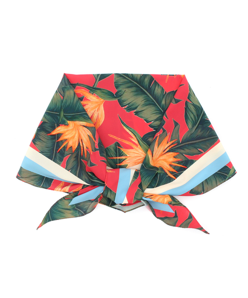 【Casselini(キャセリーニ)】ジャングル柄スカーフ