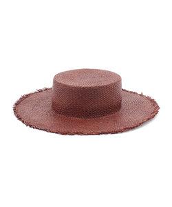 【Casselini(キャセリーニ)】ラフィアカンカン帽