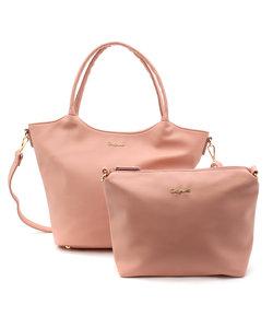 バッグインバッグ付きトートバッグ