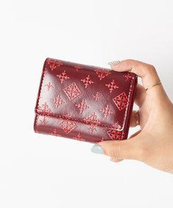 オリジナルファブリック 三つ折り財布