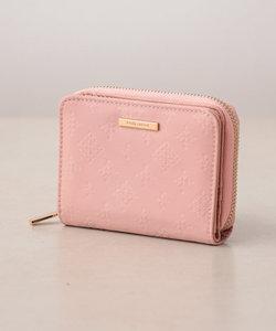 裏張りナイロン型押し 二つ折り財布