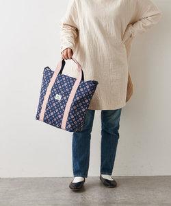 【A4サイズ対応】裏張りナイロン プリントベーシック2wayトートバッグ