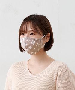 【デオファクター?加工の不織布を使用】綿プリント布マスク