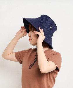 【弱撥水&UVカット】ナイロンジャガード ハット