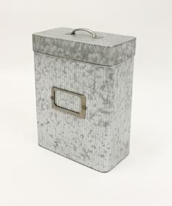 ≪Luana掲載商品≫ アンティークブリキレクタングル缶S