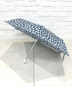 シンプルフラワー折りたたみ雨傘