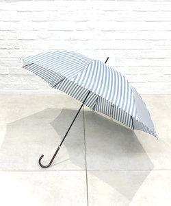 ペンシルストライプ雨傘