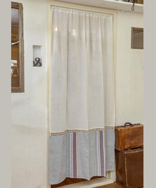 裾デザインカーテン