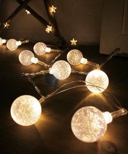 【フェアリーライト】LEDボールライトガーランド