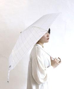 折りたたみ雨傘(チェック柄)