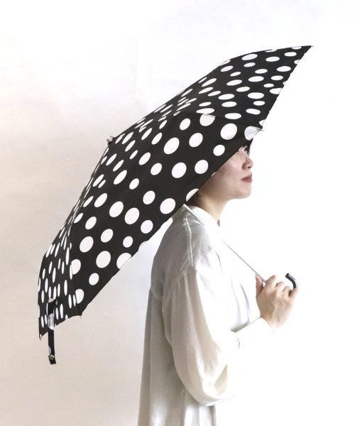 折りたたみ雨傘(ドット柄)