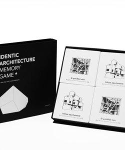 《カードゲーム》【Cinqpoints】アイデンティック建築記憶ゲーム
