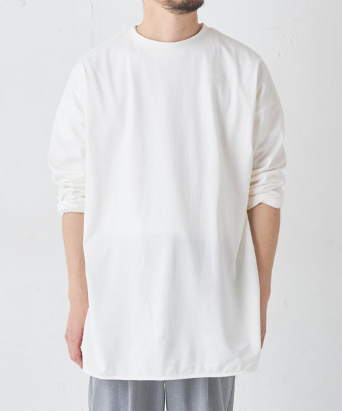 《ユニセックス》前後2WAYオーバーサイズTシャツ