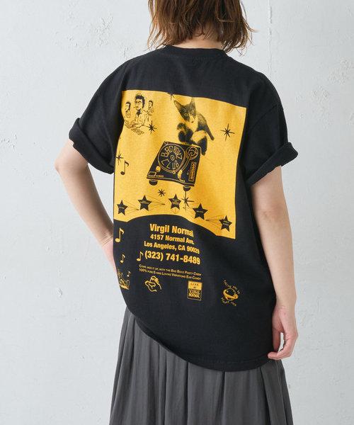 《ユニセックス》【VIRGIL NORMAL】プリントTシャツ