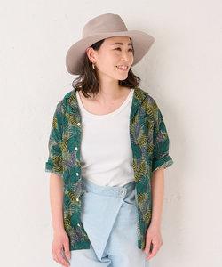 《動画付き、日本製》サファリ柄シャツ