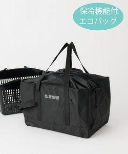 保冷機能付き買い物かごバッグ/エコバッグ