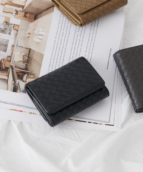 【WOMEN'S/ユニセックス】メッシュ三つ折り財布