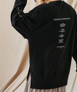 【WEB・一部店舗限定】ST 2139 ダンボールバックプリントスウェット
