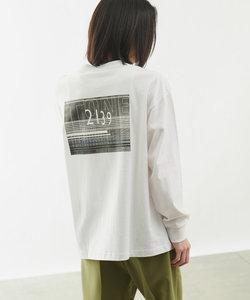 PhotoUSAコットン天竺長袖Tシャツ/フォトプリントロンT(ユニセックス可)