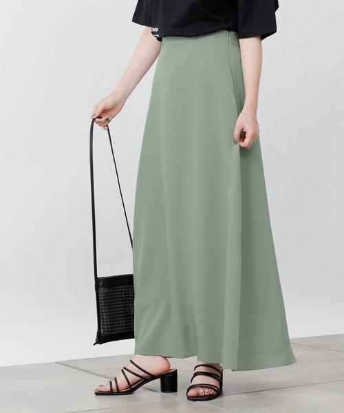 トロタッチフレアスカート