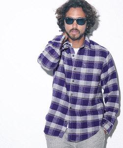 RP ムラ糸ネルシャツ