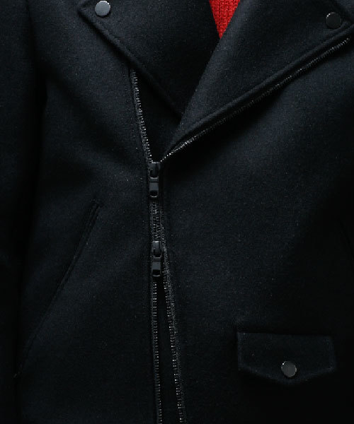 メルトンライダースジャケット