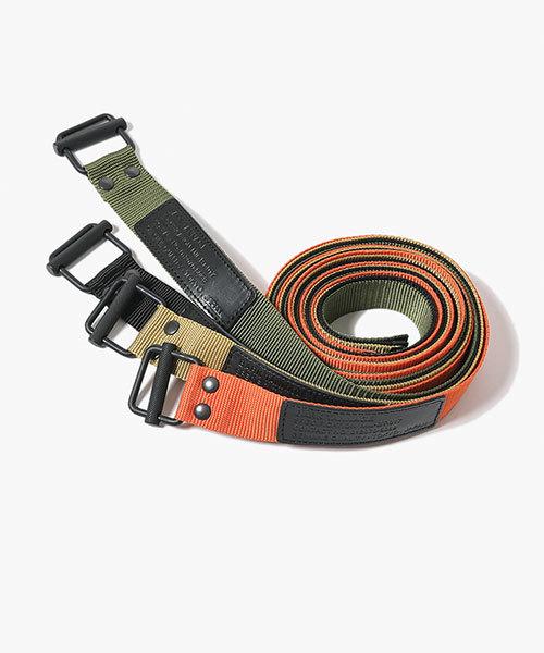 ミリタリーロングテープベルト