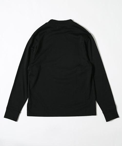 //ビアリッツ天竺モックネックTシャツ