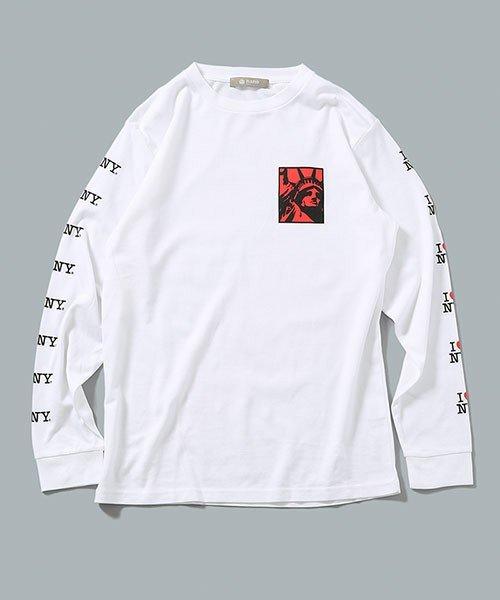 I LOVE NY TシャツL/S No1