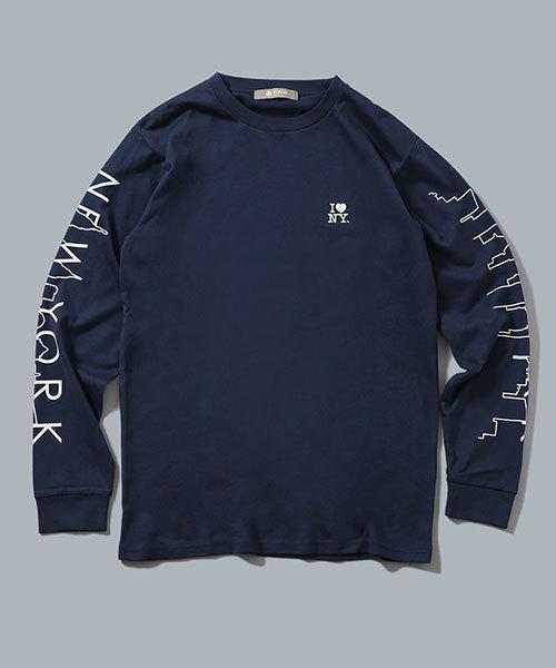 I LOVE NY TシャツL/S No2