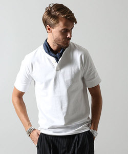 ナノフォルテヘンリーネックTシャツ S/S