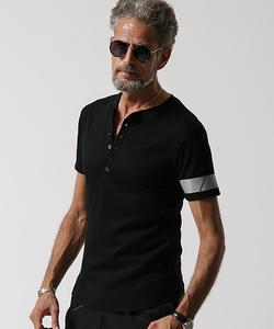 JH ヘンリーネックTシャツ