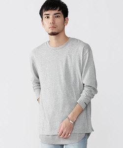 ∴別注ワッフルレイヤードTシャツ LS