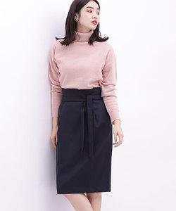 ウールコクーンタイトスカート