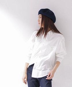 Wポケットミリタリーワイドシャツ