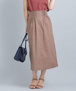 【WEB限定】ハイウエストシャーリングスカート